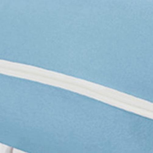 Capa Protetora de Colchão Solteiro Revest Azul Claro com 1 peças em Algodão