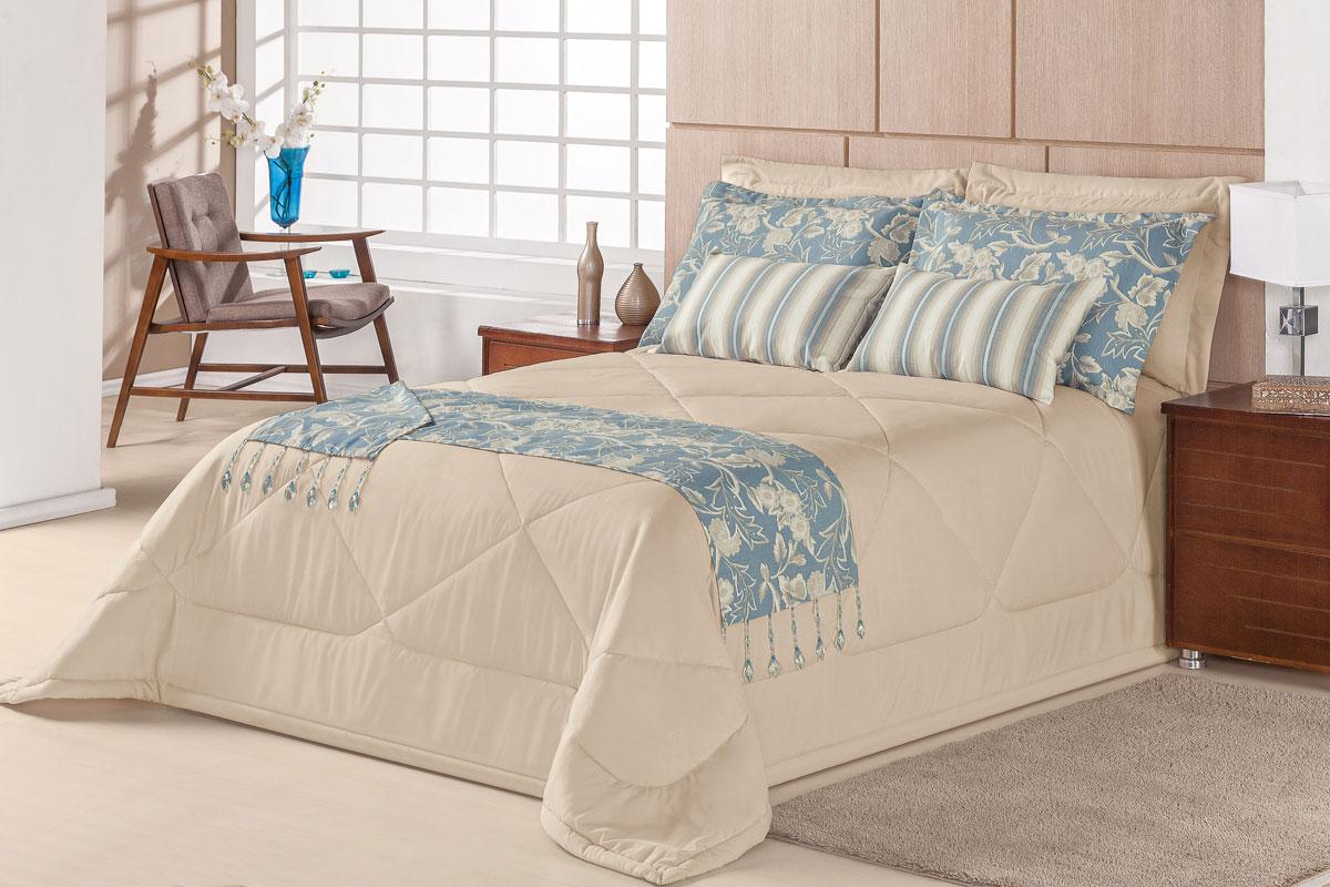 Colcha cobre leito cama super king size caqui com colcha - Imagenes de colchas para camas ...