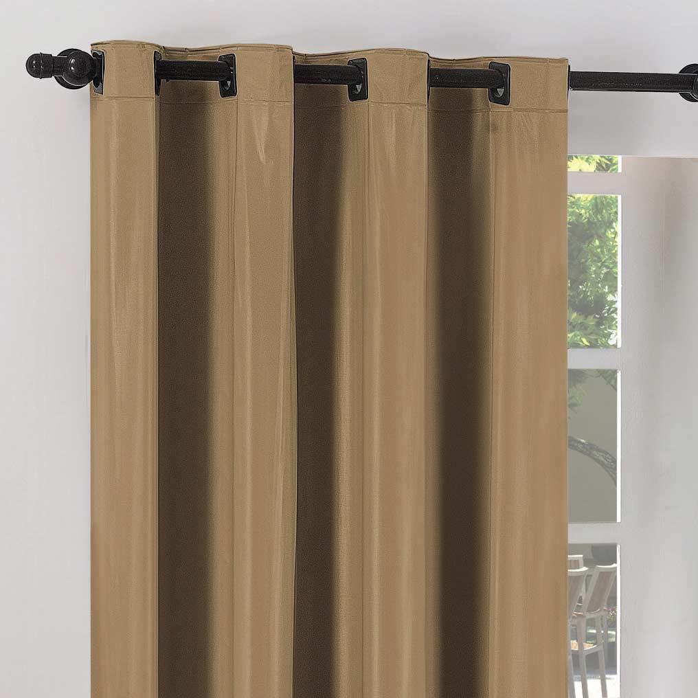 Cortina Cortenova 2 metros Castor com 1 peças em PVC