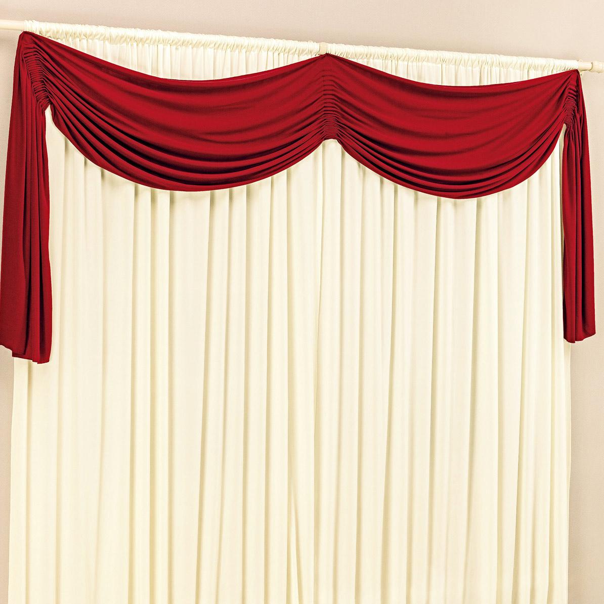 Cortina de sala ou quarto 2 metros palha vermelho com 1 for Ganchos de plastico para cortinas