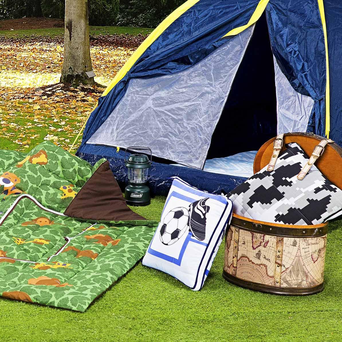Edredom Almofada Cama Solteiro com 1 peça tecido Algodão e Poliester e Microfibra - Edredom Infantil
