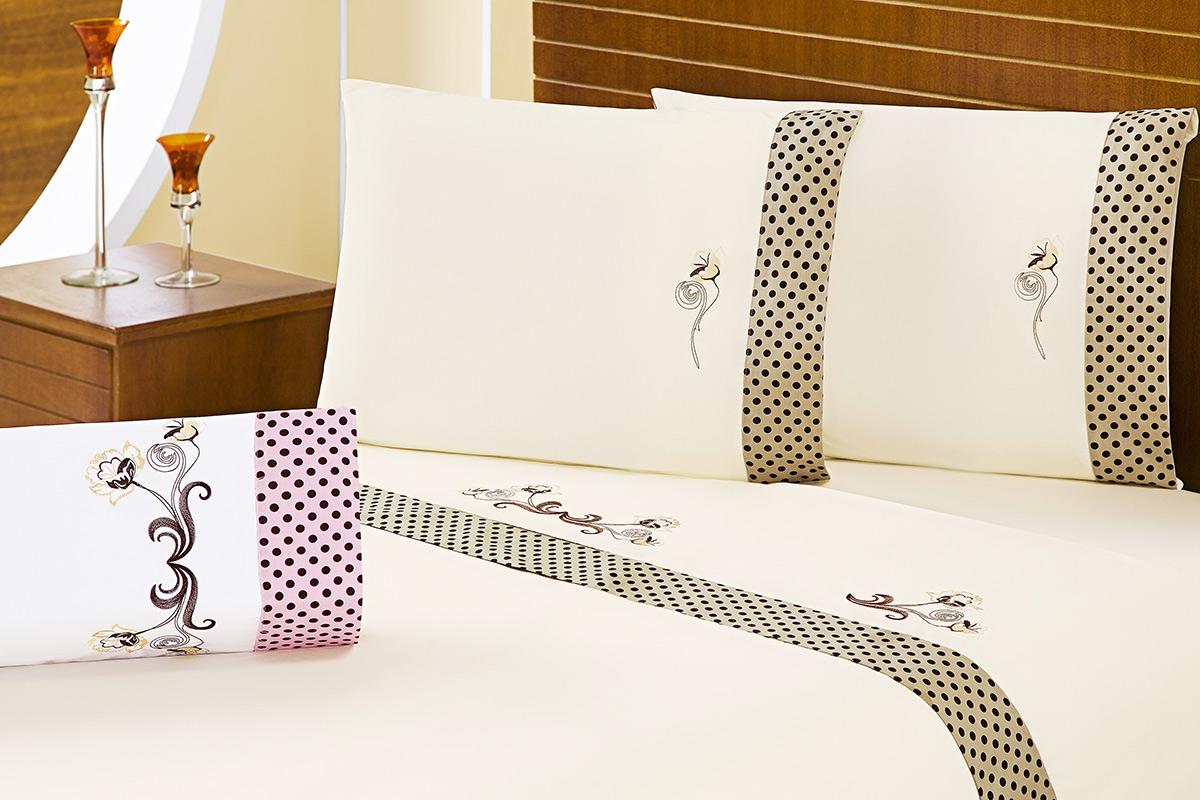 Jogo de Lençol Cama Queen Branco com 4 peças tecido Algodão 180 fios - Roupa de Cama Fascinio