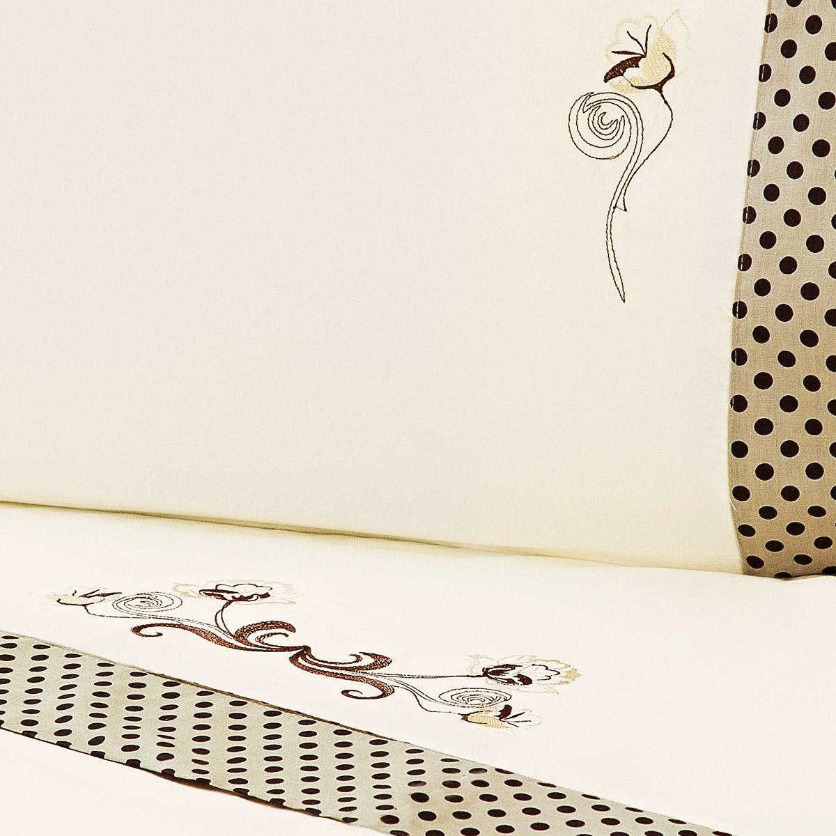 Jogo de Lençol Cama Queen Palha com 4 peças tecido Algodão 180 fios - Roupa de Cama Fascinio