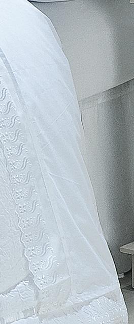 Jogo de Lençol Cama King Size Branco em 100% Algodão com 4 peças - Jogo de Lençol Classic