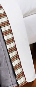 Lençol de Cama Arsenal Cama Solteiro em algodão com 03 peças - Roupa de Cama Arsenal