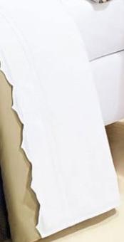 Lençol de Cama Queen Duet Branco com 04 peças na cor Branca - Roupa de Cama Duet