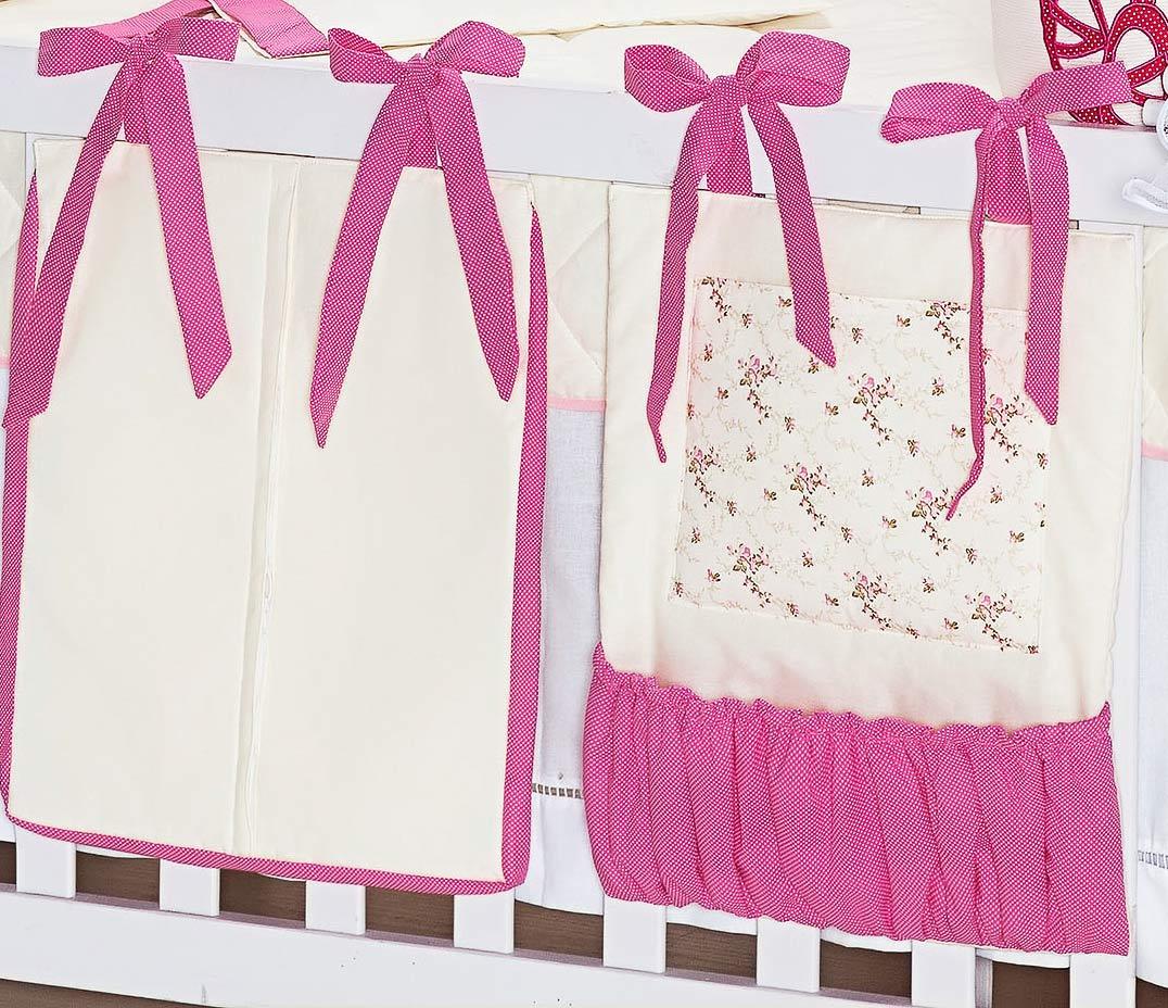 Porta Treco Bailarina 2 Peças Pink com 2 peças