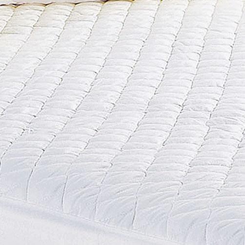 Protetor de Colchão Casal Prátik Branco com 1 peças em Algodão e Poliéster