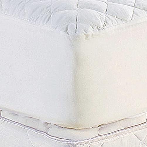 Protetor de Colchão Queen Prátik Branco com 1 peças em Algodão e Poliéster