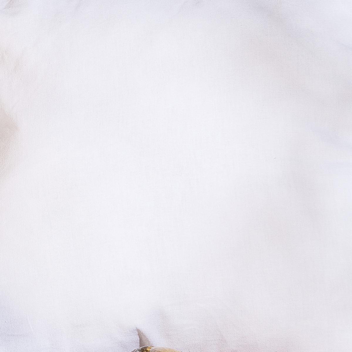 Refil Almofada 50cm x 50cm Branca - Refil Almofada