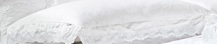 Roupa de Cama / Lençol Chiesa Queen em Fio Egipicio Percal 400 fios cor Branco com 4 peças
