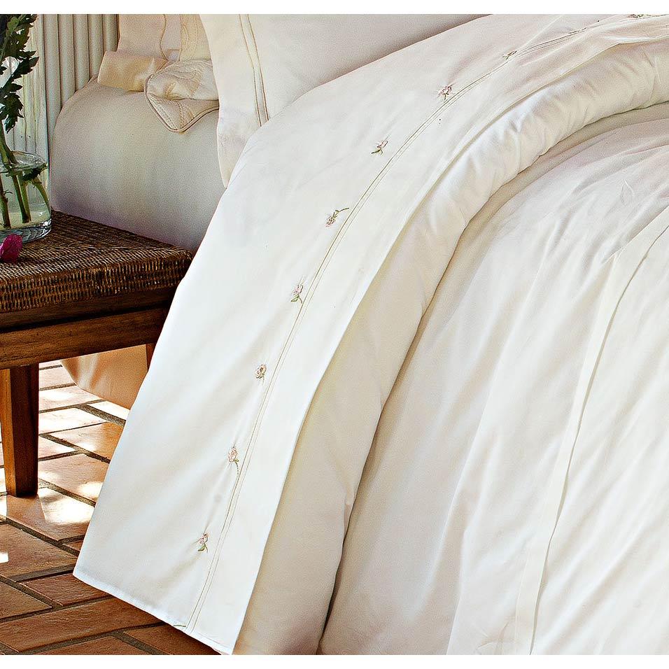 Roupa de Cama / Lençol Giardini Queen em Percal Algodão 230 fios - Acetinado cor Palha com 4 peças
