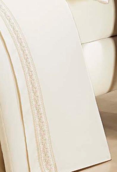 Roupa / Lençol de Cama Queen Percal 200 fios com 4 peças - Jogo de Lençol Lumiere