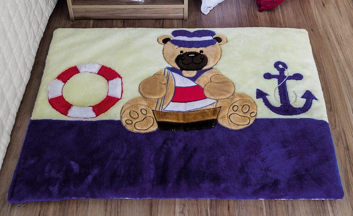 Tapete Infantil Mágico Urso Marinheiro Urso Marinheiro com 1 peças