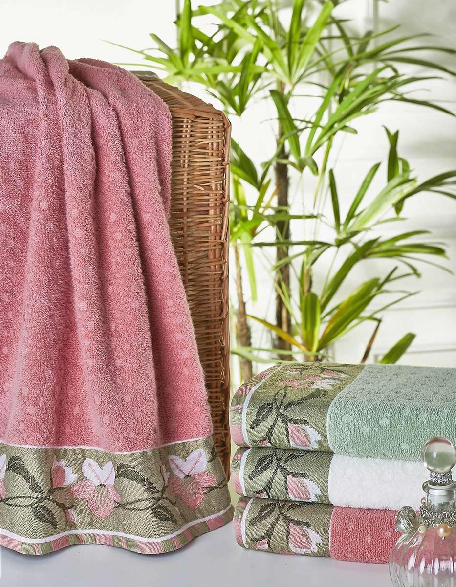 Toalha Banho - em Algodão com 1 peça - Rubine