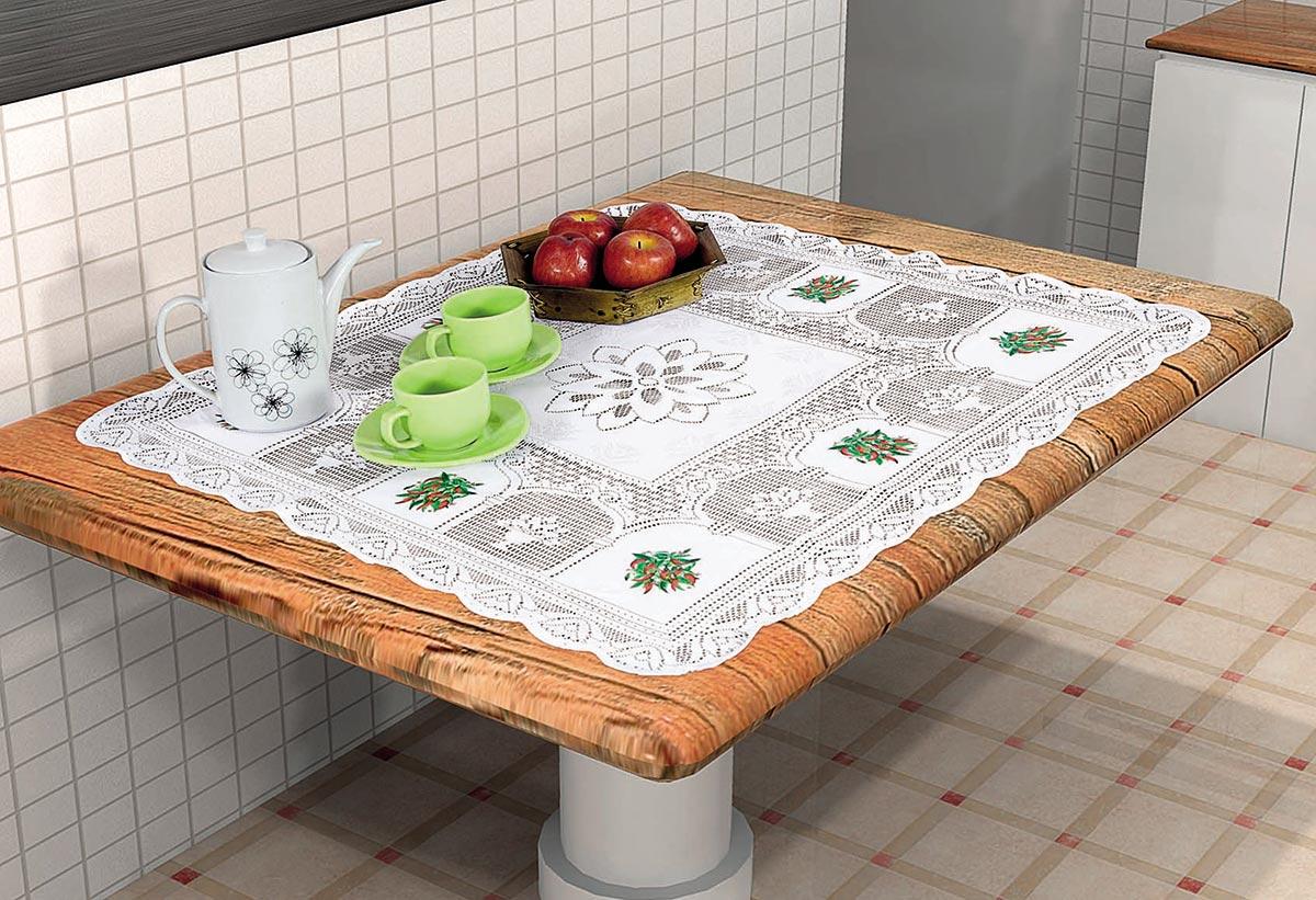 Toalha para centro de mesa Pimenta 78cm x 78cm Pimenta com 1 peças