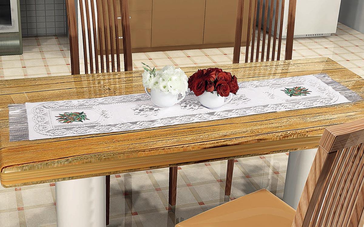 Toalha Trilho de Mesa Pimenta 1,50cm x 40cm Pimenta com 1 peças