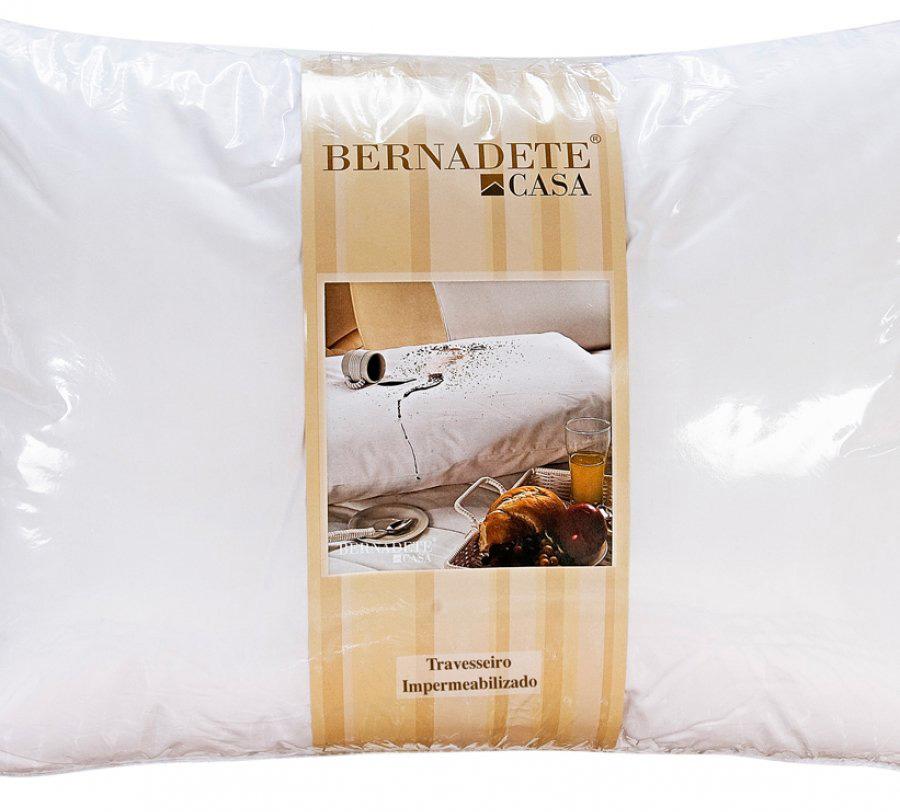 Travesseiro de Cama 70cm x 50cm Percal 200 fios - Travesseiro Impermeavel