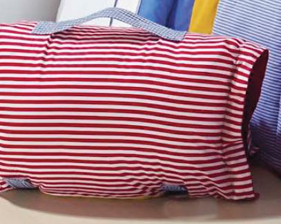 Travesseiro de Viagem ÚnicoPercal 200 fios com 2 peças - Travesseiro Viagem Colors