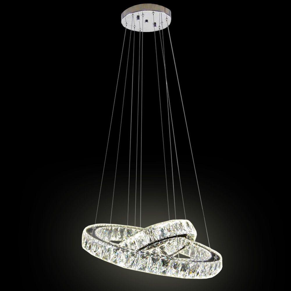 lustre pendente alliance 2 argolas led lumi life ilumin o. Black Bedroom Furniture Sets. Home Design Ideas