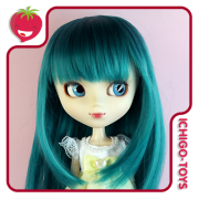Peruca For My Doll 1090 - Vintage Green 9-10 - Pullip/Dal/Byul/Tae/Isul