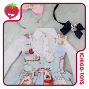 Sweets Dress Set - Blue