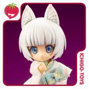 Cu-poche - Shiro Kitsune (White Fox Spirit) - Cu-poche Friends