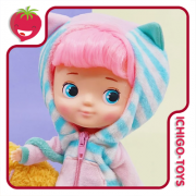 Hachichi Doll - Paw Paw Monster Pink