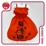 Kurhn Doll Outfit - Red Dress Set