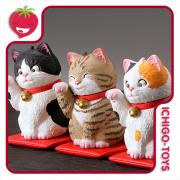 MiniQ Miniature Cube Satou Kunio's Lucky Cat - avulsos!