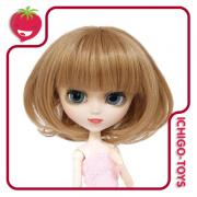 MIO - Peruca 001 - Light Brown Bob - 8-9 Pullip/Dal/Byul/Tae/Isul