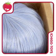Peruca 8 - Mini Mui-chan - Pastel Purple Blue (serve em Pullip/Dal)