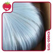 Peruca 8 - Mini Mui-chan - Pastel Turquoise Blue (serve em Pullip/Dal)