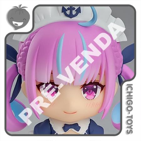 PRÉ-VENDA 28/02/2022 (VALOR TOTAL R$ 592,00 - 10% PARA RESERVA*) Nendoroid 1663 - Minato Aqua - Hololive Production