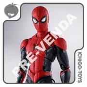 PRÉ-VENDA 28/02/2022 (VALOR TOTAL R$ 656,00 - 10% PARA RESERVA*) S.H. Figuarts - Spider-Man Upgraded Suit - Spider-Man: No Way Home