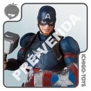 PRÉ-VENDA 31/01/2022 (VALOR TOTAL R$ 762,00 - 10% PARA RESERVA*) Mafex 130 - Captain America - Avengers: Endgame
