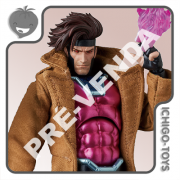 PRÉ-VENDA 30/04/2021 (VALOR TOTAL R$ 748,00 - 10% PARA RESERVA*) Mafex 131 - Gambit - The Uncanny X-Men