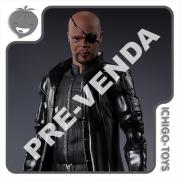PRÉ-VENDA 31/05/2021 (VALOR TOTAL R$ 598,00 - 10% PARA RESERVA*) S.H. Figuarts - Nick Fury - Avengers