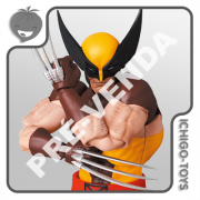 PRÉ-VENDA 30/06/2021 (VALOR TOTAL R$ 682,00 - 10% PARA RESERVA*) Mafex 138 - Wolverine (Brown) - The Uncanny X-Men