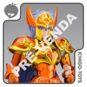 PRÉ-VENDA 30/11/2021 (VALOR TOTAL R$ 1.136,00 - 20% PARA RESERVA*) Cloth Myth EX Tamashii Web Exclusive - Sorento de Sirene Asgard Final Battle - Saint Seiya