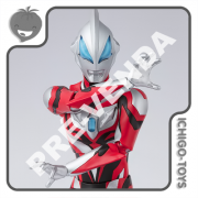 PRÉ-VENDA 31/01/2021 (VALOR TOTAL R$ 514,00 - 10% PARA RESERVA*) S.H. Figuarts - Ultraman Geed Primitive New Generation - Ultraman Geed