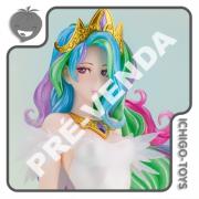 PRÉ-VENDA 30/04/2022 (VALOR TOTAL R$ 1.432,00 - 20% PARA RESERVA*) Bishoujo Figure 1/7 - Princess Celestia - My Little Pony