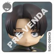 PRÉ-VENDA 31/01/2022 (VALOR TOTAL R$ 544,00 - 10% PARA RESERVA*) Nendoroid 390 - Levi - Attack on Titan