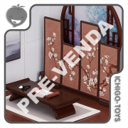 PRÉ-VENDA 31/01/2022 (VALOR TOTAL R$ 584,00 - 10% PARA RESERVA*) Nendoroid Playset 10 Goodsmile Arts - Chinese Study Set A