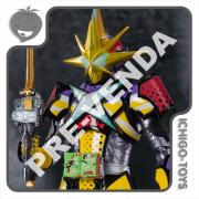 PRÉ-VENDA 31/01/2022 (VALOR TOTAL R$ 764,00 - 10% PARA RESERVA*) S.H. Figuarts Tamashii Web Exclusive - Masked Rider Saikou Kin no Buki Gin no Buki X Sword Man - Masked Rider Saber