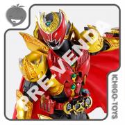 PRÉ-VENDA 31/01/2022 (VALOR TOTAL R$ 972,00 - 10% PARA RESERVA*) S.H. Figuarts Shinkocchou Seihou Tamashii Web Exclusive - Masked Rider Kiva Emperor Form - Masked Rider Kiva