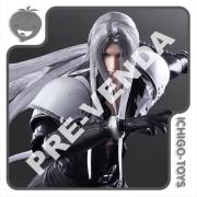 PRÉ-VENDA 31/01/2022 (VALOR TOTAL R$ 1.322,00 - 20% PARA RESERVA*) Play Arts Kai - Sephiroth - Final Fantasy VII Remake