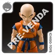 PRÉ-VENDA 31/03/2022 (VALOR TOTAL R$ 558,00 - 10% PARA RESERVA*) S.H. Figuarts - Krillin (Earth's Strongest Man) - Dragon Ball Z