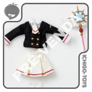 PRÉ-VENDA 31/03/2022 (VALOR TOTAL R$ 620,00 - 50% PARA RESERVA*) Pullip Outfit Tomoeda High School Uniforms - Cardcaptor Sakura