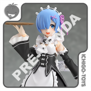 PRÉ-VENDA 30/06/2021 (VALOR TOTAL R$ 718,00 - 10% PARA RESERVA*) Figma 346 - Rem - Re:Zero Starting Life in Another World